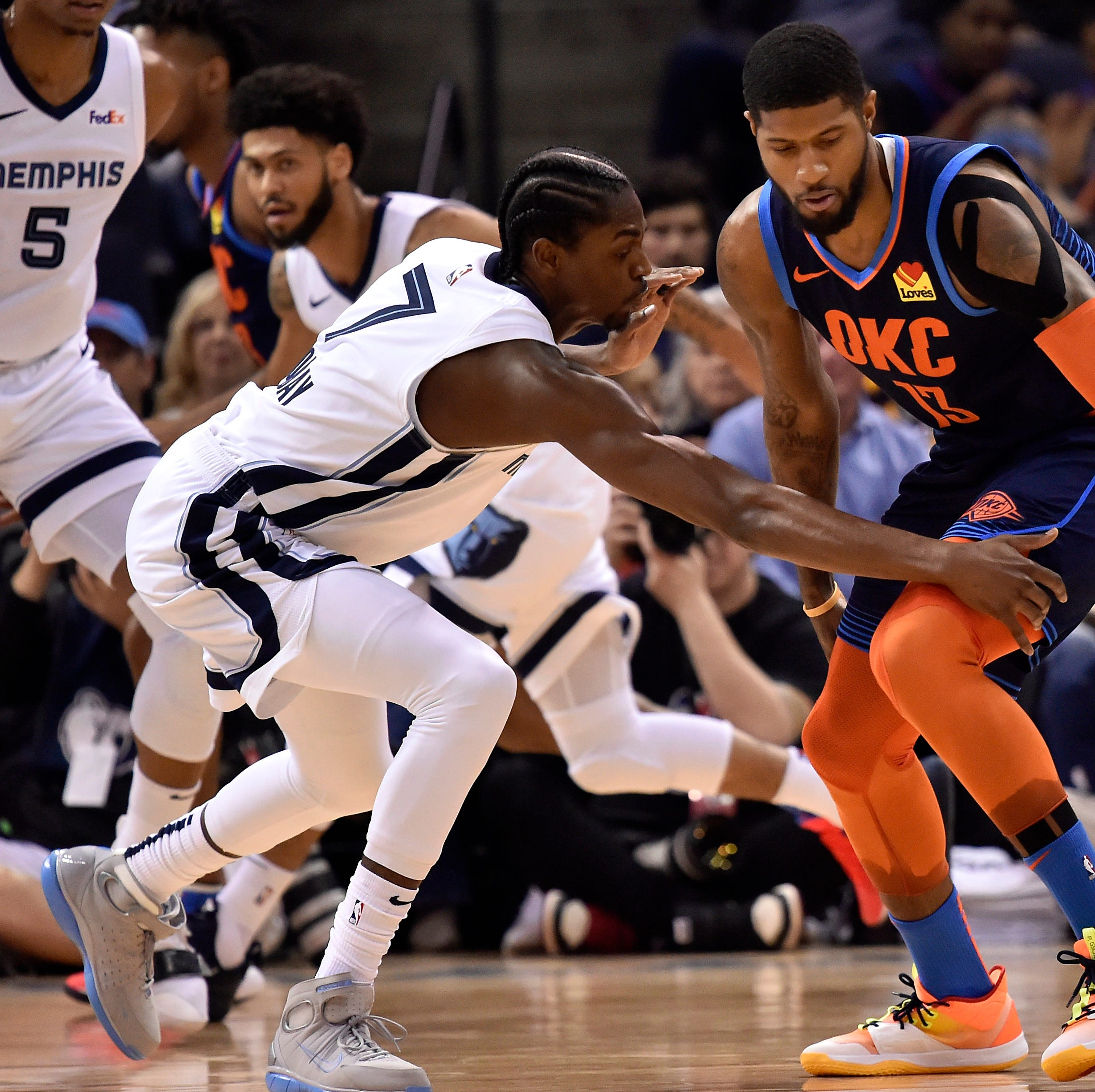 Game Recap: Memphis Grizzlies 115, Oklahoma City Thunder 103