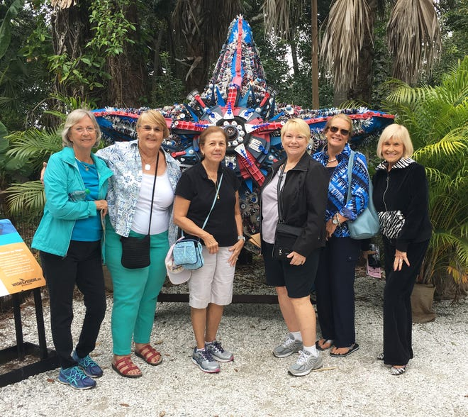 Donna Kay, Sue Oldershaw, Barbara Messner, Sara Wolf, Kimberly Korb Porter and Jacquelyn Pierce.