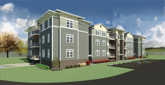 Tower Ridge, a new apartment complex in Oconomowoc, will feature 27 units.