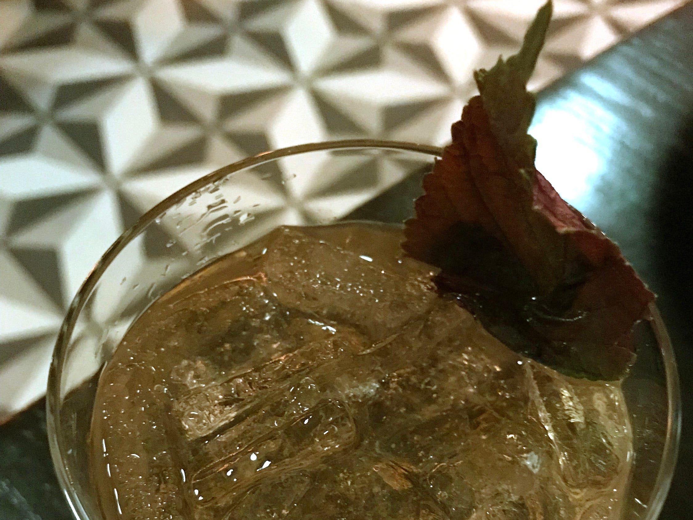 The Wind Rises, a spring cocktail at Strange Town, 2101 N. Prospect Ave., is an elaboration on a gin and tonic:  Aviation gin infused with shiso leaves, topped up with Boylan tonic ($13).