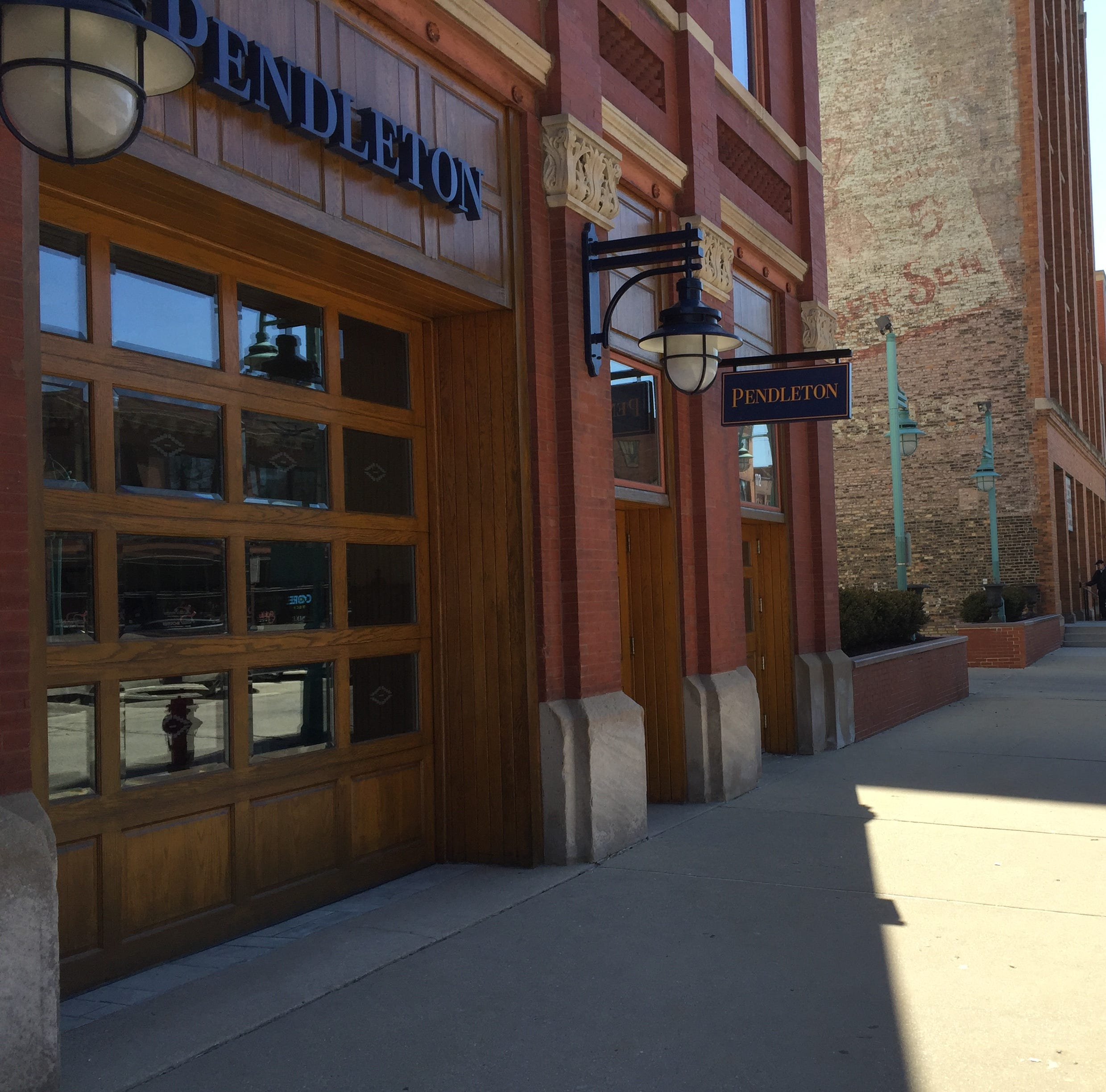 The Pendleton store in Milwaukee's Historic Third Ward is closing