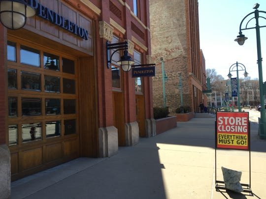 After not quite six years in business, the Pendleton store in Milwaukee's Historic Third Ward is closing.