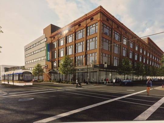 The former Schuster's department store on North King Drive will be renovated into space for a new program that will focus on central city health, as well as other uses.