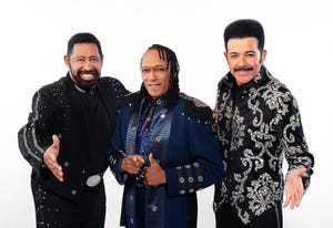 "The Commodores, from left: William King, Walter ""Clyde"" Orange, JD Nicholas. The Grammy Award winning band will perform Friday at the Montgomery Performing Arts Centre."