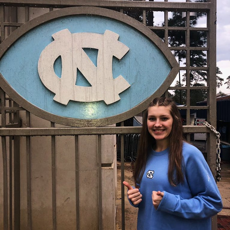 New Castle volleyball star announces commitment to North Carolina