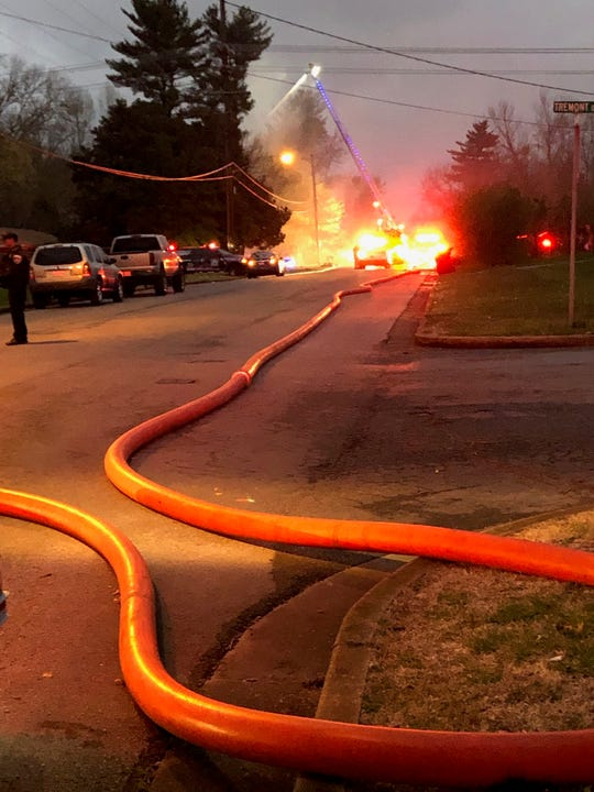 On Monday, March 25, 2019, Murfreesboro Fire Rescue Department arrived to a house fire on Kirkwood Avenue where one person died.