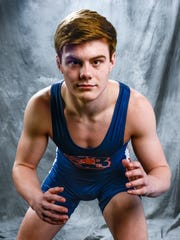 Landon Fowler, Blackman wrestling