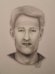 Franklin police have released a sketch of a man they say tried to sexually assault a teenager on Sunday evening while she was stranded on Interstate 65.