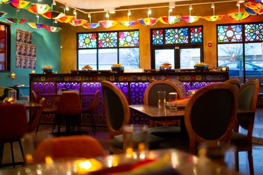 The Chaat Bar at Maneet Chauhan's Chaatable, one of Nashville's most romantic restaurants for Valentine's Day, according to Forbes.