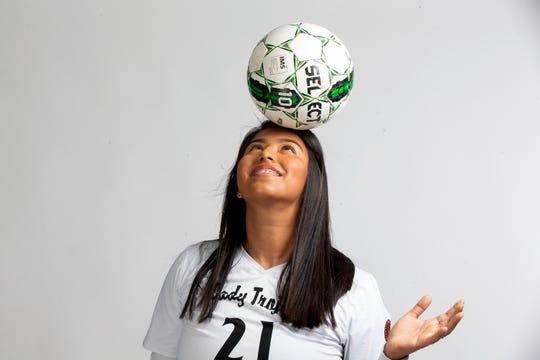 Lely High School senior soccer player Alondra Castillo