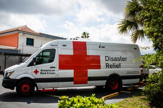 The recently purchased Next-Generation Emergency Response Vehicle at the Florida Southern Gulf chapter of the American Red Cross in Fort Myers on Tuesday, March 26, 2019. The new vehicle, purchased with funds raised at a Naples gala, has a sleeker build and many additional features to help with disaster relief.