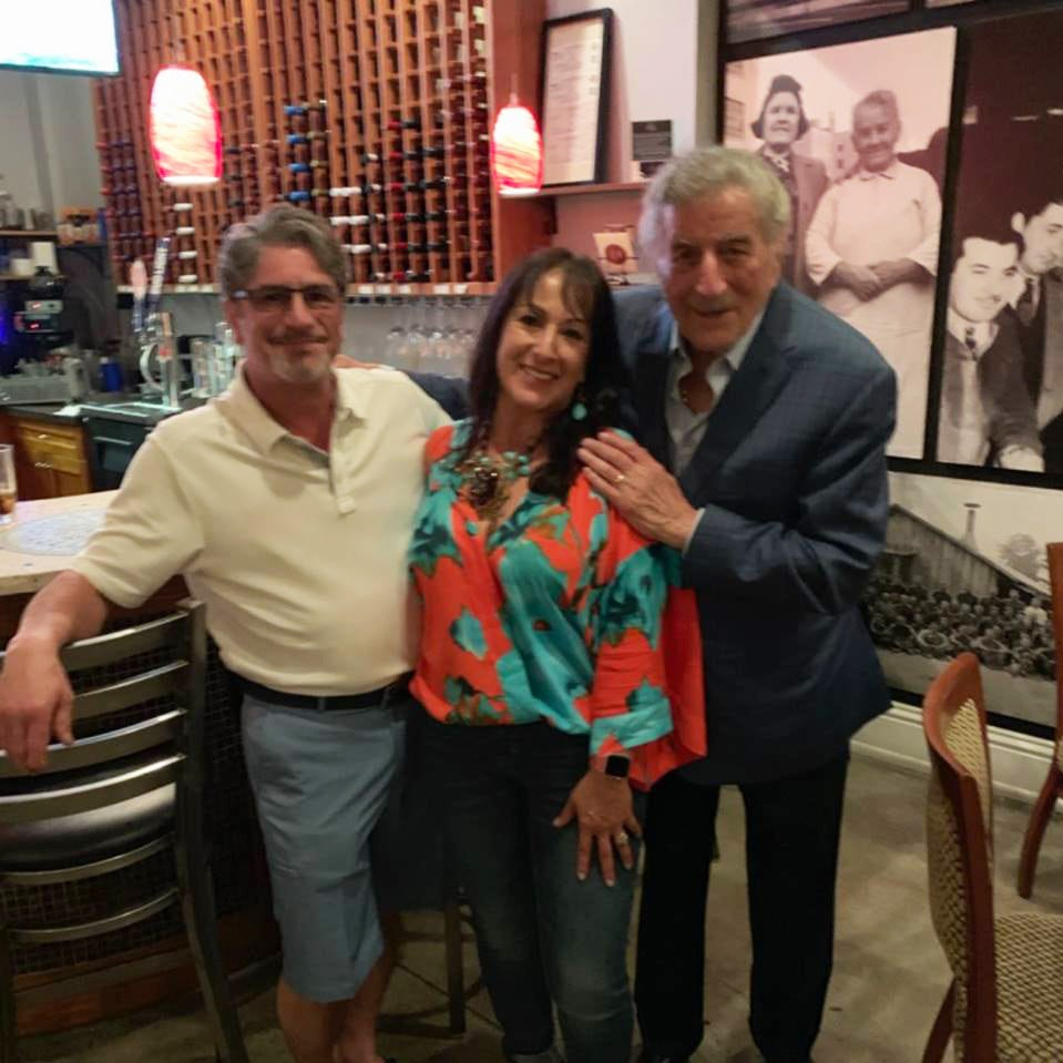 Tony Bennett checks out the Naples (Florida) Italian food scene before performing at Artis—Naples