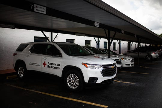 One of two recently purchased Chevy Traverses at the Florida Southern Gulf chapter of the American Red Cross in Fort Myers on Tuesday, March 26, 2019. The vehicles were purchased with funds raised at a Naples gala last year.