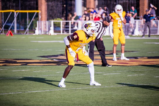 Licking Heights graduate Martell Davis led Gannon University in tackles and interceptions last season.