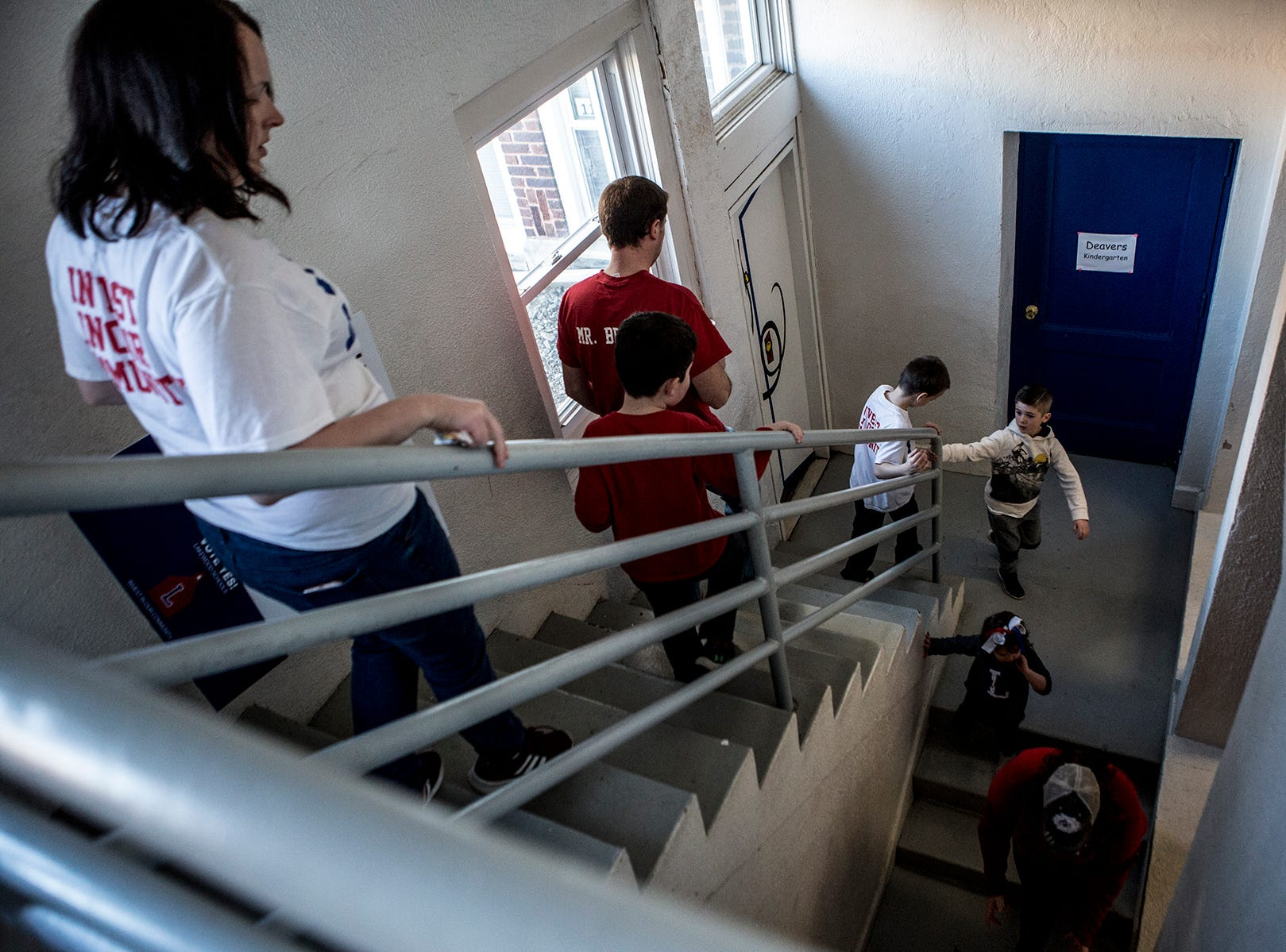 Hebron Elementary is like a maze, making it hard to navigate, especially with all the stairs. There is handicap access to the second floor, but not the third floor which is where second grade classrooms are. When the chair lift breaks students have had to be carried up to their classrooms.