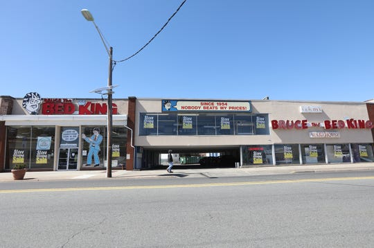 Bruce The Bed King, in Hackensack, is a third-generation family business which will close its doors in May or June. Tuesday, March 25, 2019