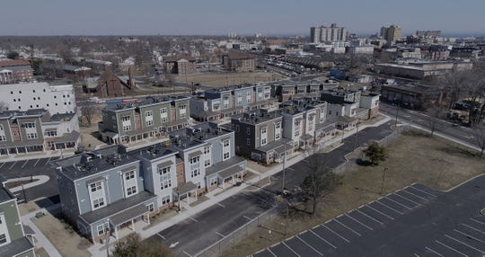 The new Boston Way housing development in Asbury Park is shown Wednesday, March 20, 2019.