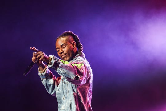 Fetty Wap performs at the 2016 BET Experience at the Staples Center on Saturday, June 25, 2016, in Los Angeles. (Photo by Rich Fury/Invision/AP)