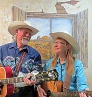 Brad and Bonnie Jo Exton are the Ramblin' Rangers.