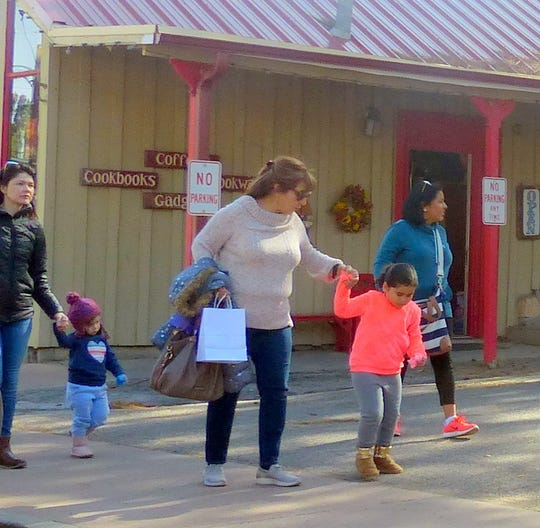 With spring breaks over, midtown Ruidoso shop owners are seeing busy weekends and holidays, but slower weekdays.