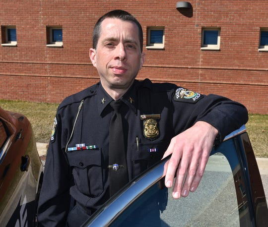 Wayne Police Department Chief Ryan Strong.