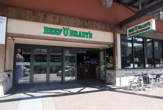 Beef O' Brady's confirmed on Tuesday, March 26, 2019, that it is closing its downtown Pensacola location on Saturday.