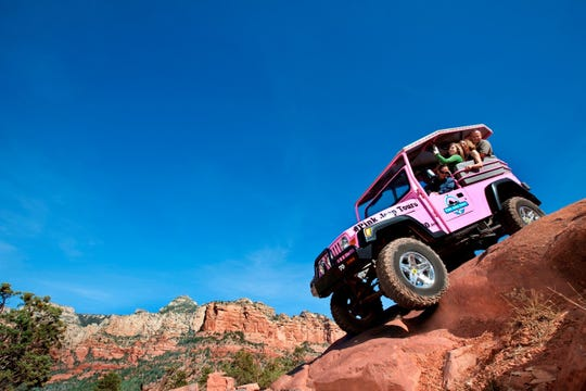 Several jeep companies offer an array of tours into Sedona's rugged outback.