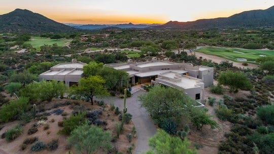 John and Marla Ordway purchased this $2.91M golf-course lot home in Scottsdale.