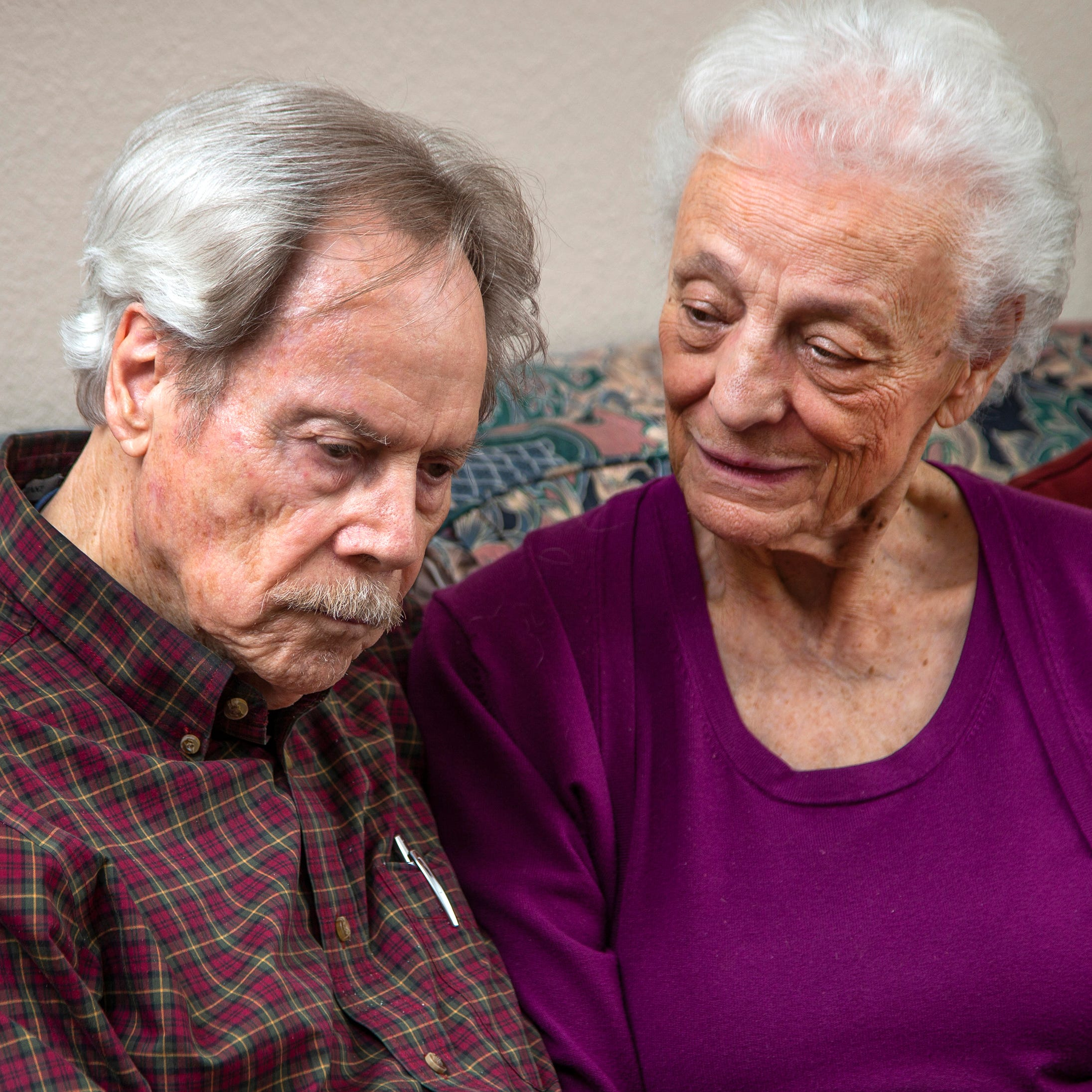 Frank and Betty Lusk are in their late 80s and say they were pressured into buying a $150,000 timeshare with $19,000 yearly maintenance fees by Diamond Resorts. They talk about their ordeal at their West Valley home March 19, 2019.