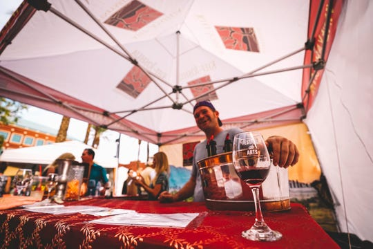 At the Tempe Festival of the Arts, patrons can try local beers, wines and spirits.