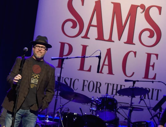 Bart Millard of MercyMe performs during Sam's Place - Music For The Spirit, Hosted by Steven Curtis Chapman at The Ryman Auditorium on January 10, 2016 in Nashville, Tennessee.