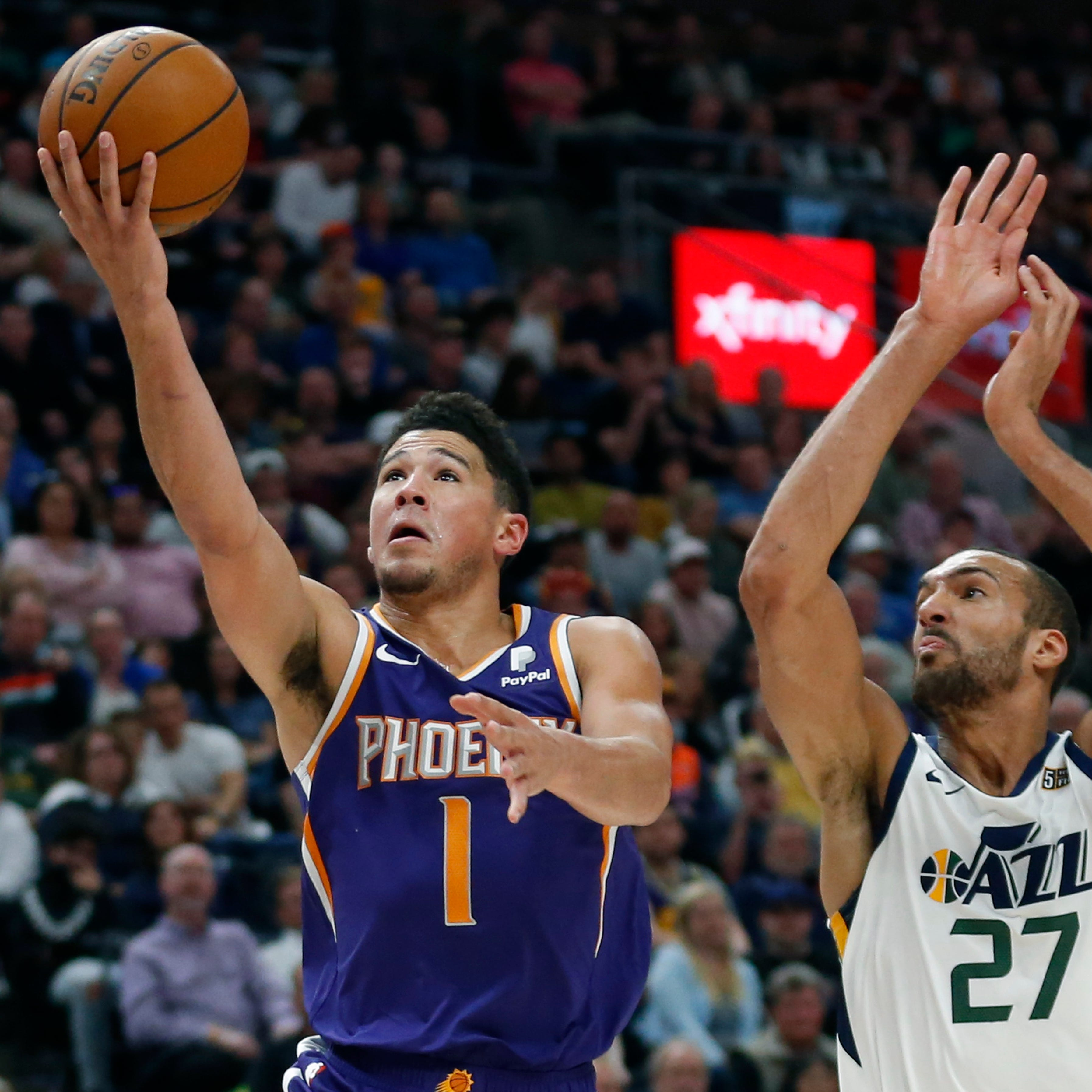 Devin Booker erupts for 59 points as Jazz foul to prevent more in Suns' blowout loss