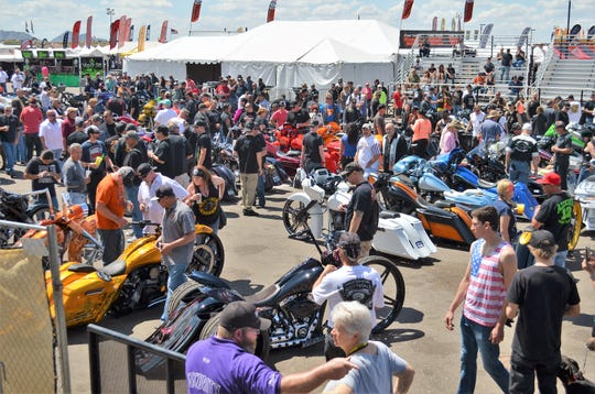 Tens of thousands of motorcyle fans are expected at Arizona Bike Week 2019.