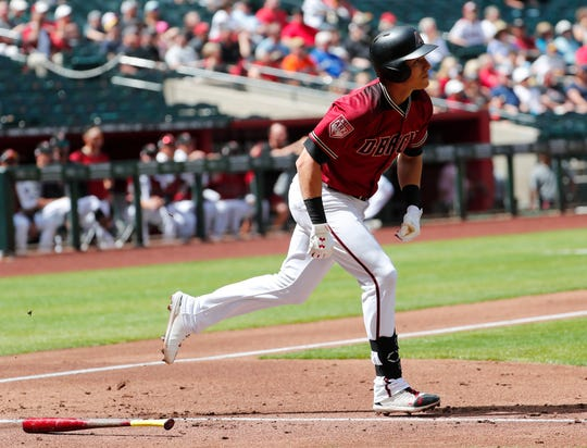 Jake Lamb hit his second homer in as many days at Chase Field.