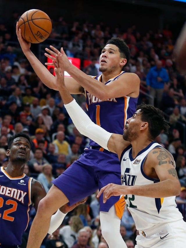 0b54da5d8 Phoenix Suns  Devin Booker drops 59 points