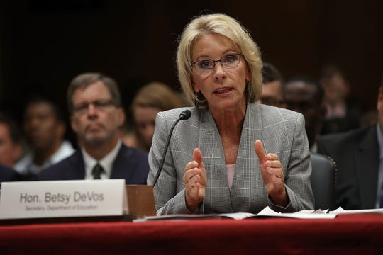 Betsy DeVos, Secretaria de Educación de Estados Unidos.