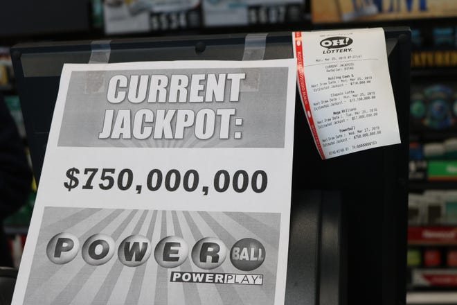 A Powerball advertisement in Port Clinton, Ohio. Rep. Steve Clouse, R-Ozark, plans to file a lottery bill that would split proceeds between pre-K programs and college scholarships.
