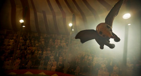 """""""Dumbo"""" opens Friday at Regal West Manchester Stadium 13, Frank Theatres Queensgate Stadium 13 and R/C Hanover Movies."""