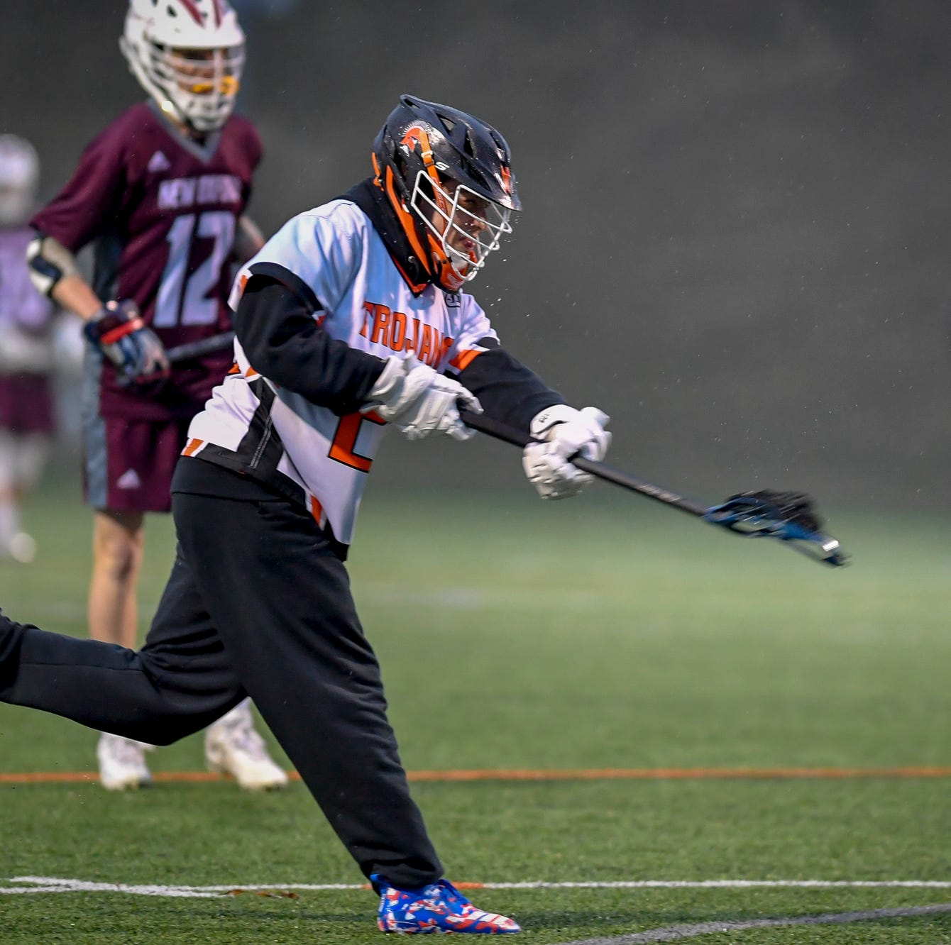 Suburban lacrosse coach beams with pride after shorthanded, weary team suffers 1-goal loss