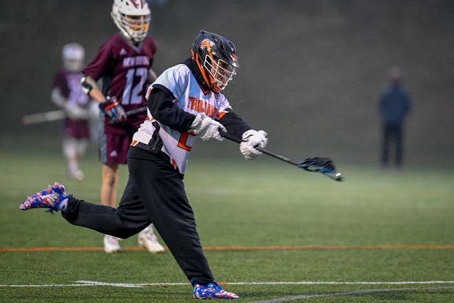 York Suburban junior Dominic Corto, seen here in a file photo, reached the 300-point milestone for his career on Thursday.