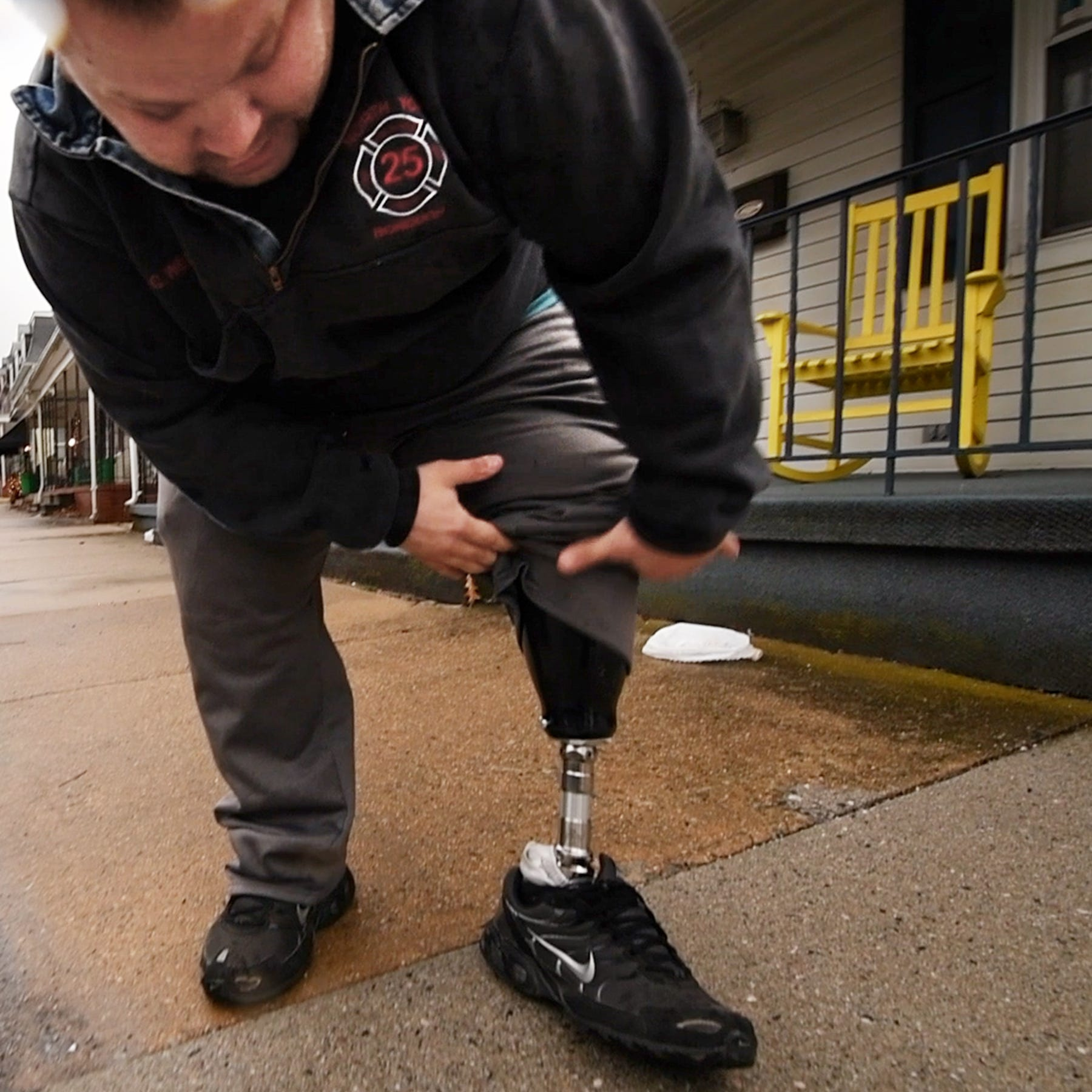 'It's almost like I am not disabled enough': Firefighter battles for handicapped parking
