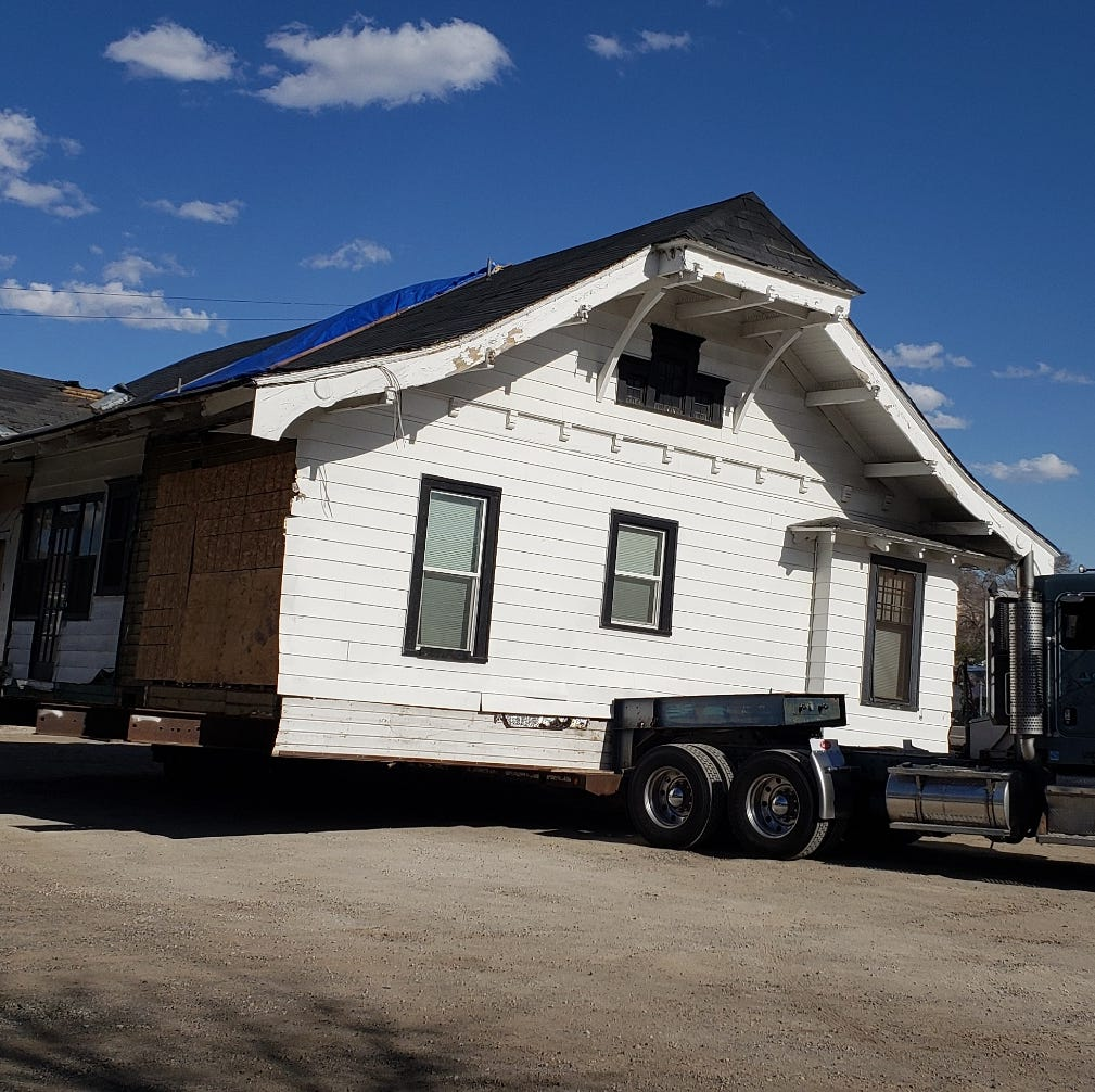 First of historic UNR Gateway homes to be moved March 28; here's how it'll travel 2 miles