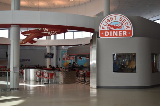 New Flight Deck Diner at the airport