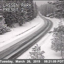 It's spring but winter storm warning issued for eastern Shasta County