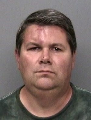 James Jay Hitt, 2015 jail booking photo.