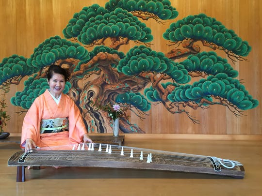 Masumi Timson will perform the music of the traditional Japanese koto at the Japanese Cultural Society's Spring Teatime Concert at 3 p.m. Sunday, March 31, at Tiga Sushi Bar & Asian Bistro.