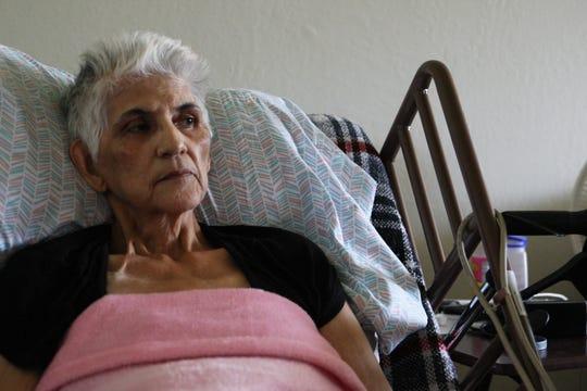 Gloria Torrez, con la mirada pensativa.