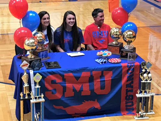 San Angelo Central High School volleyball player Trinity Southall has earned a preferred walk-on opportunity at Southern Methodist University this coming fall.