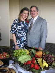 """Shreveport Medical Society Prez Dr. Christina Notarianni and hubby Dr. Andrew Werner at """"Doctors' Day Celebration."""""""