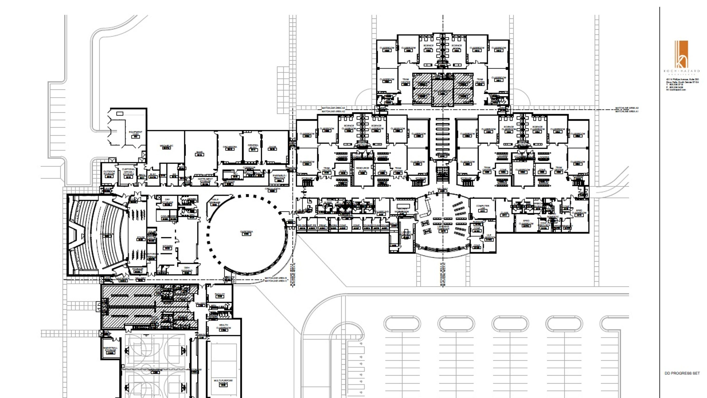 Sioux Falls approves Ben Reifel Middle School design; dual